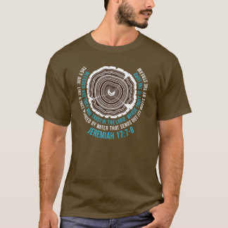 Camiseta 17:7 de Jeremiah - 8 anéis de árvore
