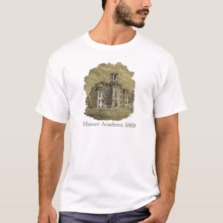 Camiseta 1869 da academia do local