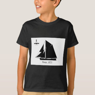 Camiseta 1873 barca - fernandes tony