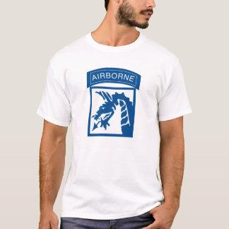 Camiseta 18o Transportado por via aérea Corp