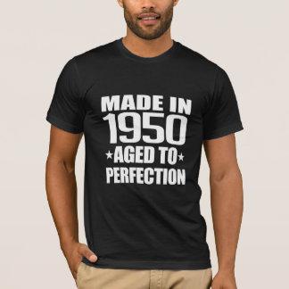 Camiseta 1950 feitos envelhecidos à perfeição
