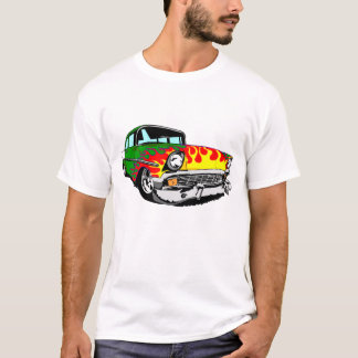 Camiseta 1956 ardeu o Bel Air no verde