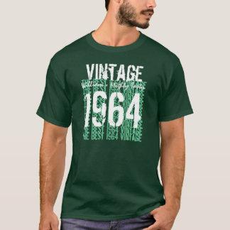 Camiseta 1964 melhores matiz do T do aniversário do ano do