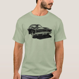 Camiseta 1968 Bullitt Charger RDR 838