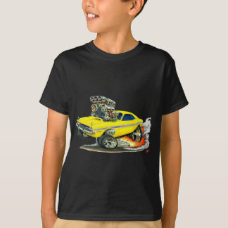 Camiseta 1970-72 carro do amarelo do desafiador de Dodge