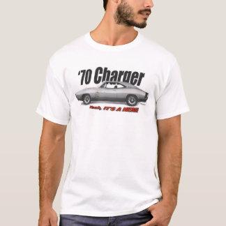 Camiseta 1970 T-SHIRT do carregador HEMI R/T Mopar de Dodge