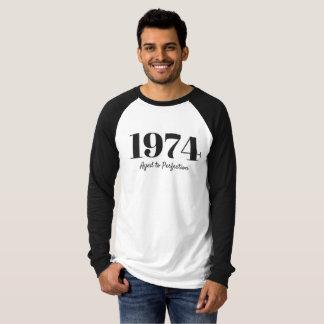 Camiseta 1974 - Envelhecido à perfeição