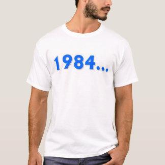 Camiseta 1984… nunca esquecem