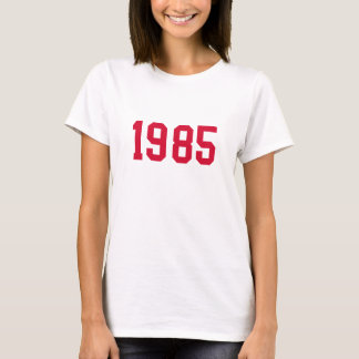 CAMISETA 1985