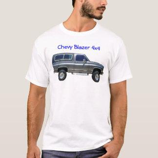 Camiseta 1989 Chevrolet Blazer, blazer 4x4 de Chevy