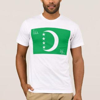 Camiseta 1996) t-shirt de Cômoros Bandeira (