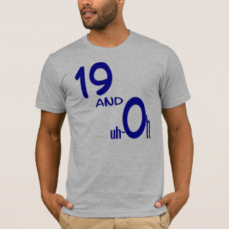 Camiseta 19 e Uh-oh t-shirt
