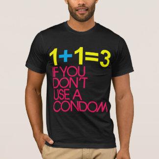 CAMISETA 1 + 1 = 3