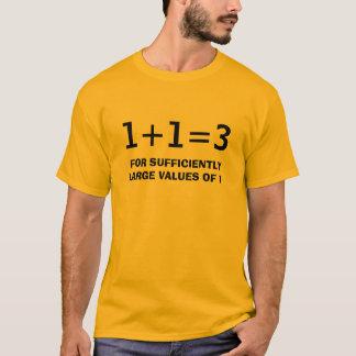 CAMISETA 1+1=3
