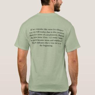 Camiseta 1:1 do Gen - 2 no deus do começo…
