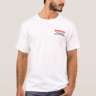 Camiseta #1 de advertência