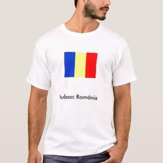 Camiseta 1, Iubesc România