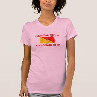 Camiseta #1 orgulhoso Nonna siciliano