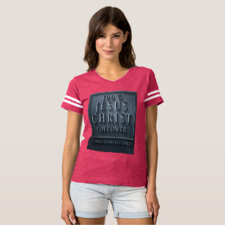 Camiseta 1 t-shirt do futebol das mulheres dos Corinthians