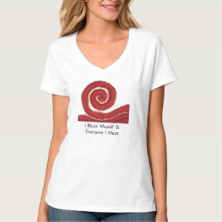 Camiseta 1st-Root Chakra#1: O Dinheiro-Eu abençoa-se…