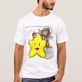 Camiseta 2004 anos do macaco! (estrela)
