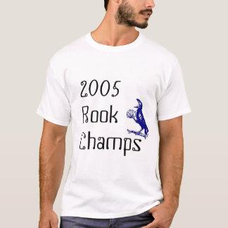 Camiseta 2005 campeões do rook