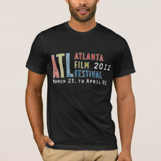 Camiseta 2012 Fest do filme de Atl - t-shirt preto