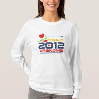 Camiseta 2012 t-shirt e presentes orgulhosos da avó