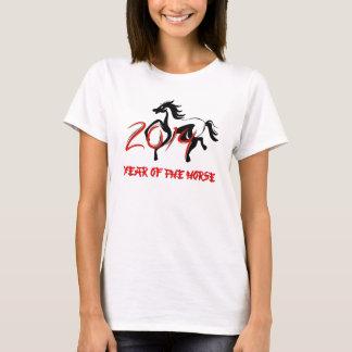 Camiseta 2014 anos do t-shirt do cavalo