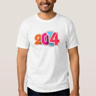 camiseta 2014 colorida