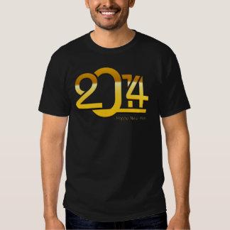 Camiseta 2014 do feliz ano novo