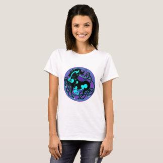 Camiseta 2014 T do unicórnio das mulheres de MinkMode -