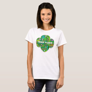 Camiseta 2015-2016 t-shirt adulto da tropa