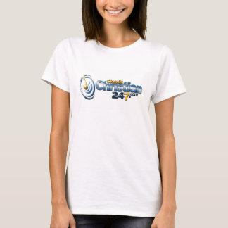 """Camiseta 2015 """"t-shirt da excursão de rádio mundial"""""""