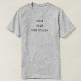 Camiseta 2016 ERAM o t-shirt O MAIS MAU