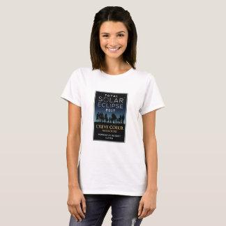 Camiseta 2017 eclipse solar total - Creve Coeur, MO
