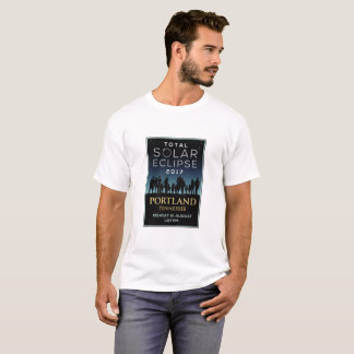 Camiseta 2017 eclipse solar total - Portland, TN