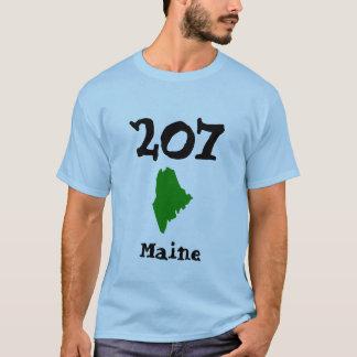 Camiseta 207, código de área de Maine