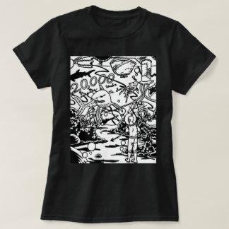 Camiseta 20.000 ligas sob o t-shirt do mar