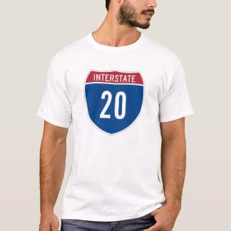 Camiseta 20 de um estado a outro