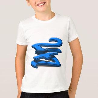 Camiseta 24 7 - Twenty-Four sete - texto azul