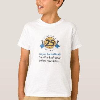 Camiseta 25o O t-shirt dos miúdos do aniversário