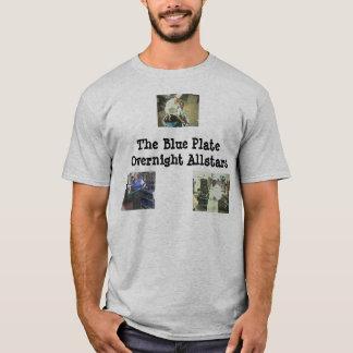 Camiseta 27, 55, 66, a placa azul Allstars de noite