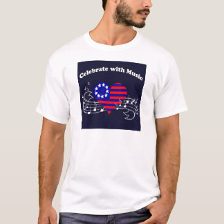Camiseta #28 comemoram com música