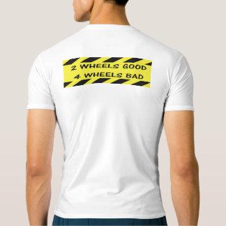 """Camiseta """"2 boas"""" partes superiores ativas de ciclagem das"""
