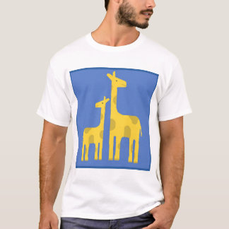 Camiseta 2 girafas