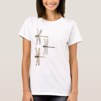 Camiseta 2 tomaram partido parte superior da libélula