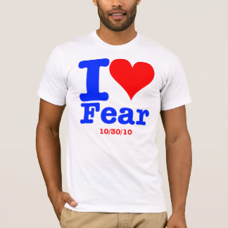 Camiseta 2 tomou partido o medo - estrangeiros