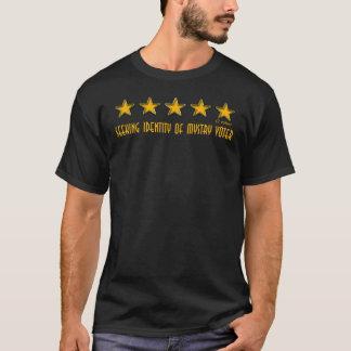 Camiseta 2 votos de cinco estrelas