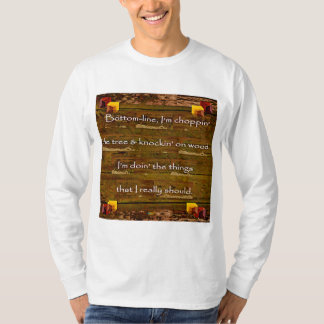 Camiseta 2ó Citações; Choppin a árvore